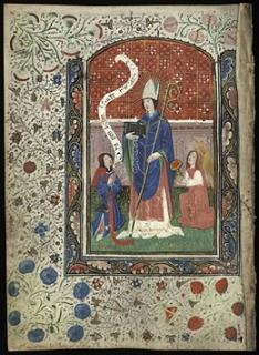 Saint Ninian. Evêque de Casa Candida (5ème s.)