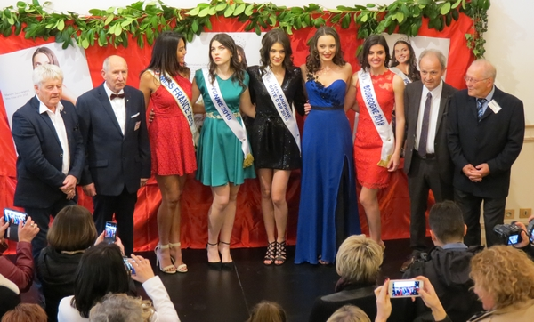 Réception des Miss en titre avant l'élection de Miss Côte d'Or 2019