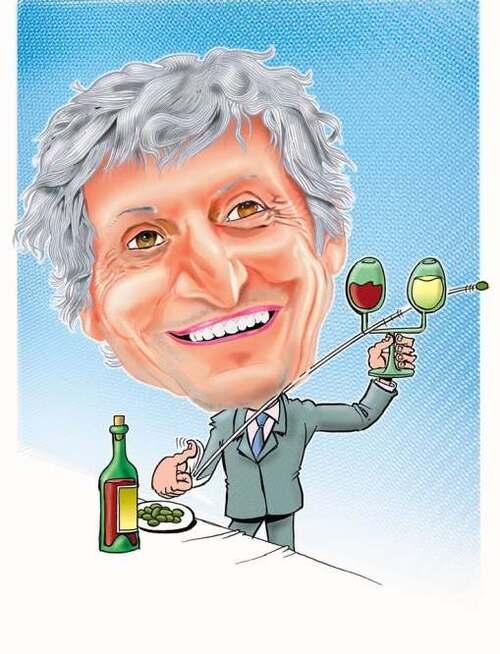 Caricature de Didier Codorniou, maire de Gruissan