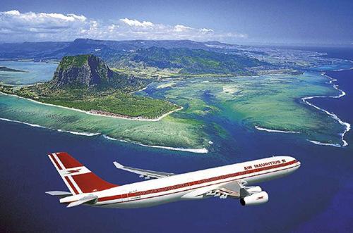 Le Corail est-il ..? je l'ai pris l'avionpour  l'île Maurice