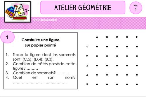 Geometrie: quadrillage