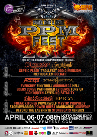 Affiche PPMFest 2012
