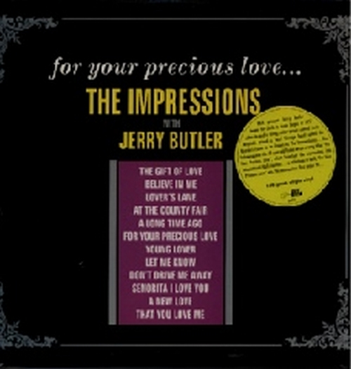 """2003 : Album CD """" For Your Precious Love """" Get Back Groove Records 8027 [ IT ]"""