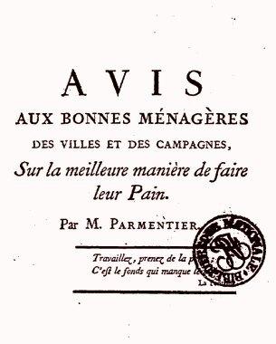 Avis aux bonnes ménagères (1777)