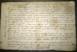 La Commanderie, 1733-1734