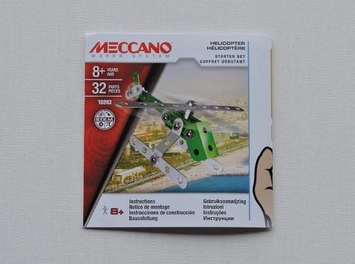 MECCANO - Hélicoptère (32 pièces)