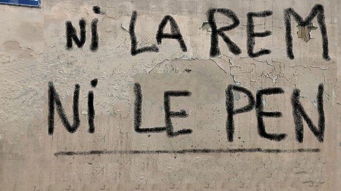 Ni la REM, Ni le RN.  Non à la Macron-Lepenisation de notre futur !