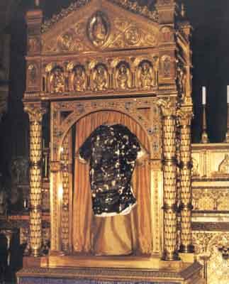 Les Saintes reliques : La Sainte tunique