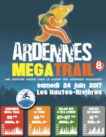 Ardennes Mega Trail - Les Hautes Rivières - Samedi 24 juin 2017