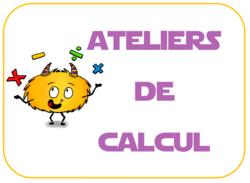mes ateliers de calcul : récapitulatif et affichage