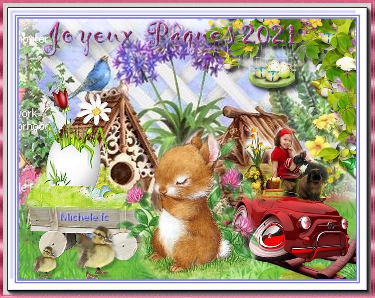 Bon Pâques 2021 à tous et toutes .