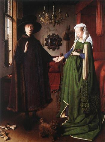 Les époux Arnolfini de Jan van Eyck (1390-1444)
