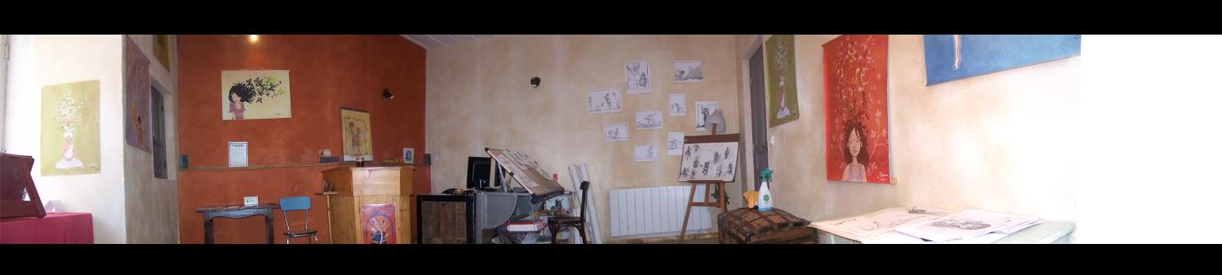 l'atelier su shaman studio graphique blesle 43 auvergne haute loire