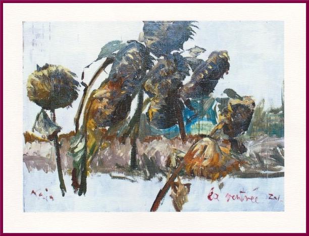 """Les """"peintures automnales"""" de Karin Neumann"""