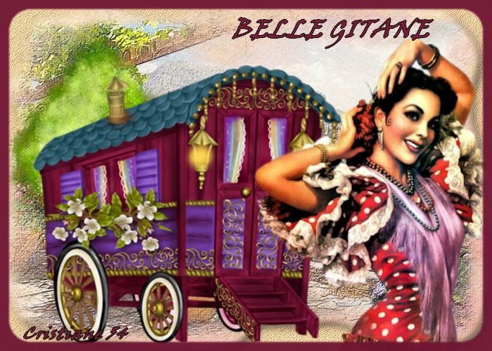 """Défi 9 """"Belle gitane"""""""