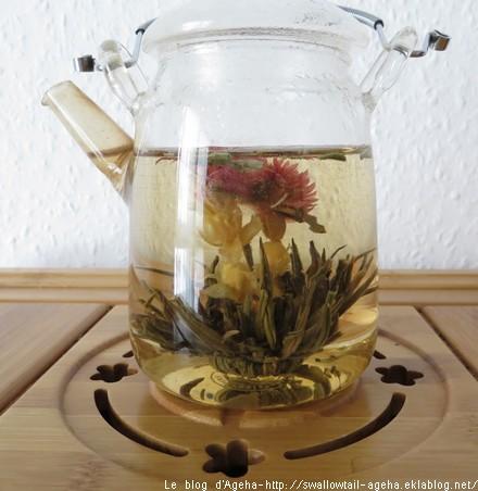 Fleur de thé double bonheur