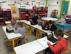 Les tablettes à l'école