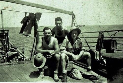 * Henri SAINT JALM (Cie de Sapeurs Mineurs), disparu dans le torpillage du Nino Bixio (17 Juillet 1942)