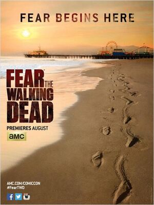 Fear The Walking dead de Dave Erickson, Robert Kirkman