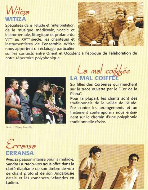 Espéraza, du 9 au 17 septembre 2006