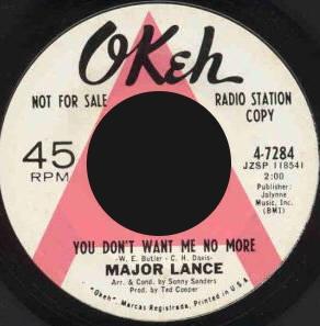 Major Lance : Discographie