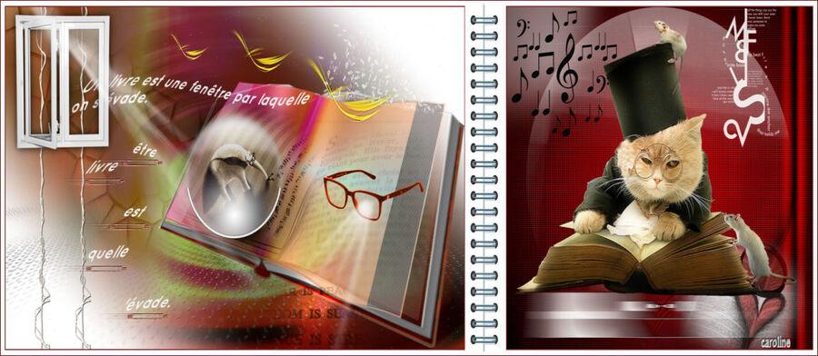 Le livre est une fenêtre... de Renée graphisme