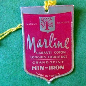 Etiquette Marline