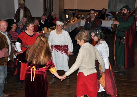 Curragh - Banquet médiéval - Danses