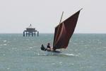 Pirmil par 30 Nds de vent voile aviron Phare du bour du monde