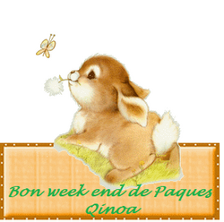 bon week end de Paques