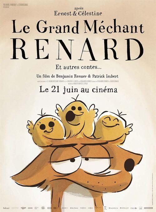 Découvrez le tout premier teaser du GRAND MECHANT RENARD par le réalisateur d'Ernest et Célestine !