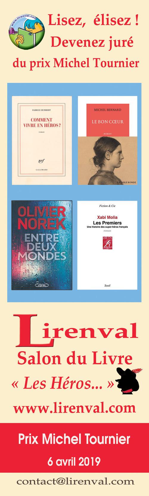 Salon du Livre LIRENVAL samedi 6 avril 2019