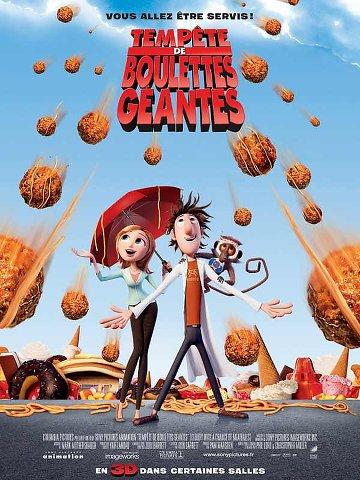 Tempête de boulettes géantes (2009) [DVDRIP FR]