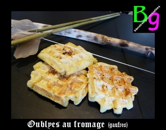 gaufres au fromage