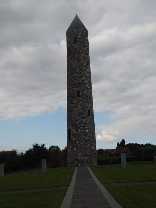 le Parc de Paix de l'île d'Irlande a Messine belgique