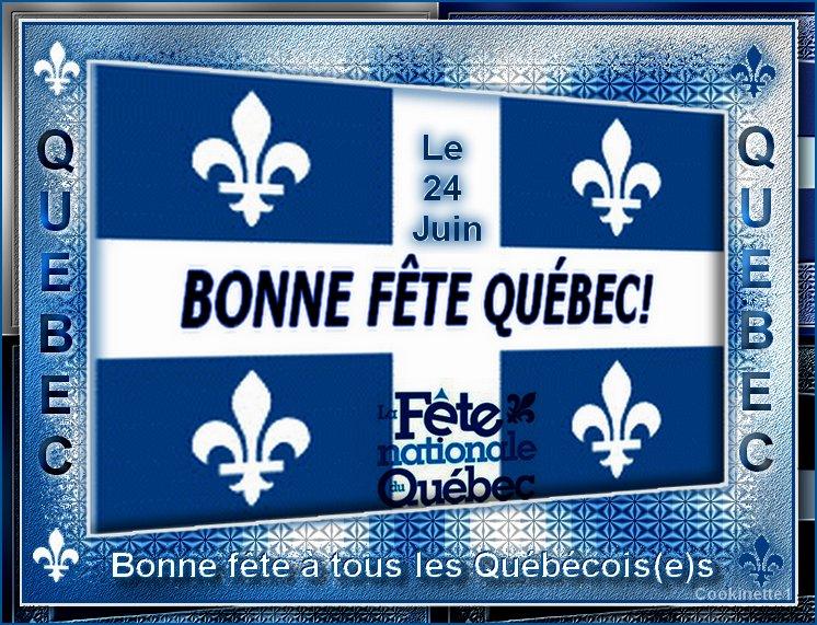 Le 24 Juin Fête nationale du Québec
