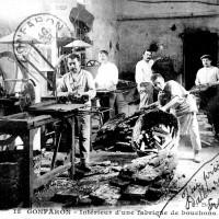 Intérieur d'une fabrique de bouchons