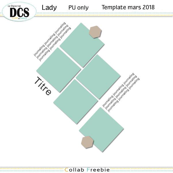 Templates DCS mars 2018