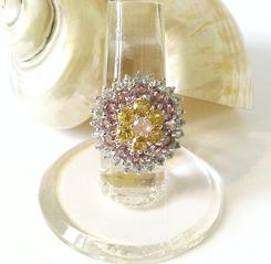Bagues argent 925 pierres multicolores, multi gems : topaze, améthyste, citrine, péridot, tanzanite, grenat, rhodolite...