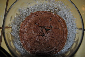Degoulinant coulant au chocolat