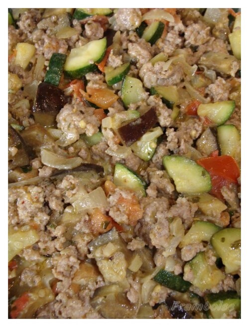 recette gratin de veau aux légumes