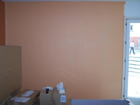 Premier mur deuxième couleur