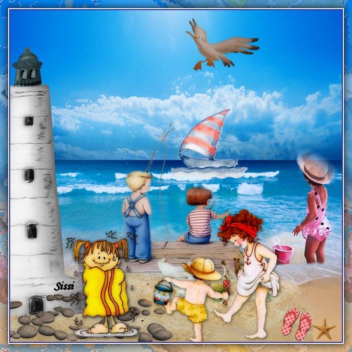 * Vacances à la Mer N2 * Atelier de Cerise *