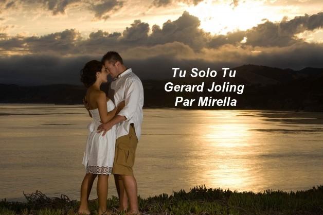 Tu Solo Tu    Gerard Joling   Par Mirella