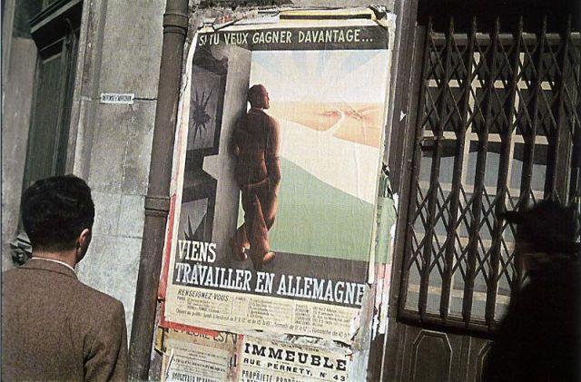 Andre Zucca: Nazi Propaganda Photos - Paris during WW245