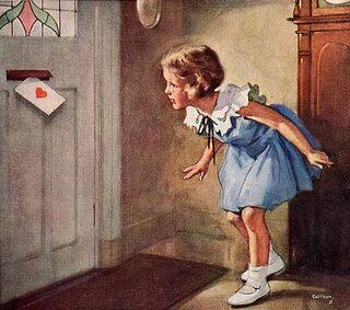 vintage St valentin DECO DIVERS