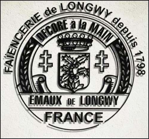 Faiencerie de Longwy ( Meurthe et Moselle)