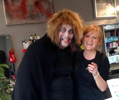Halloween 2011 avec la MJC Lucie Aubrac..