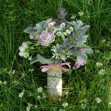 Le bouquet de la mariée...