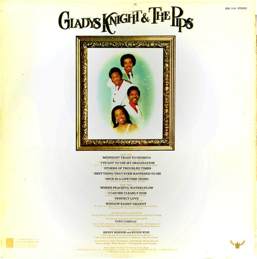 "Gladys Knight & The Pips : Album "" Imagination "" Buddah Records BDS 5141 [ US ]"
